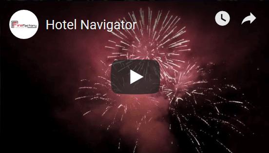 Pokaz fajerwerków Hotel Navigator