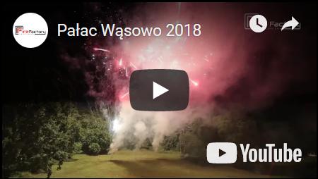 Pokaz sztucznych ogni - Pałac Wąsowo